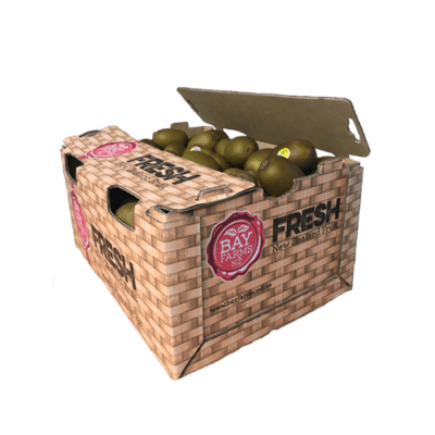 box of 90 gold kiwifruit