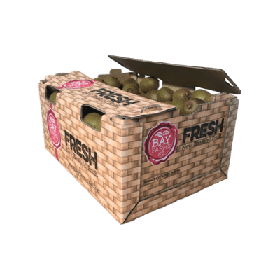 box of 90 green kiwifruit