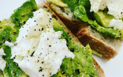 Avocado and Feta Toast