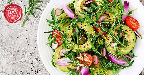 Picture of Avo and Rocket salad