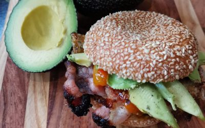 Avo In a Toasted Bun!